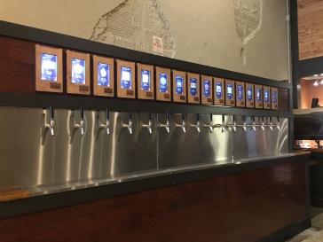 A wall o' beer