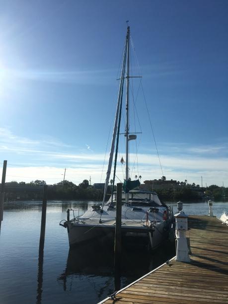 At dock at Tarpon Springs