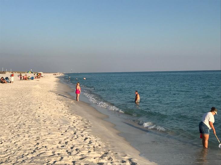 More beach!