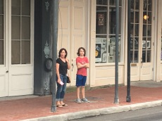 Hanging out in the French Quarter