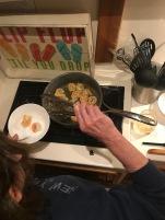 Fresh shrimp for pasta!