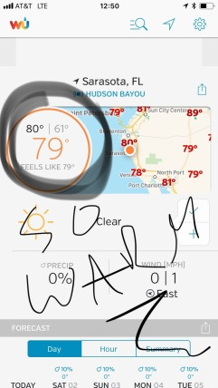 Florida, warm