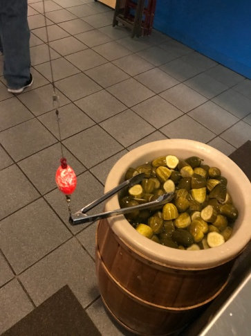 What is up with the pickles?!?!