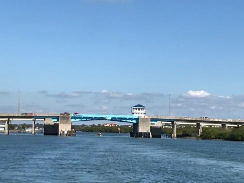 Bridges. The new locks..