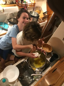 Jan saves dinner