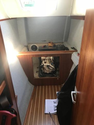 Back cabin torn apart