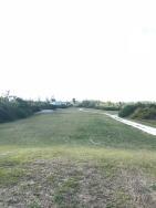 Old fairway now walkway