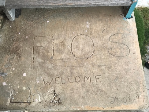 The welcome mat