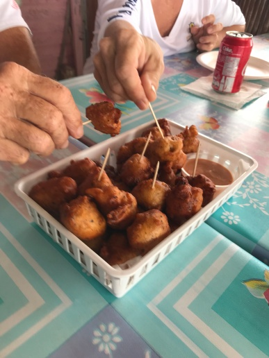 Best. Conch. Fritters. Ever