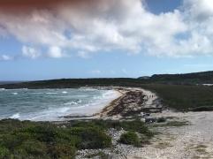Ocean side beach