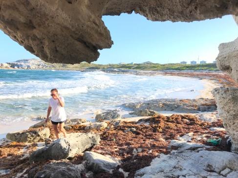 Shelling beach