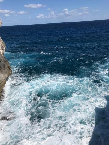 Big bad ocean...
