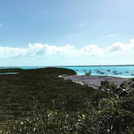 Looking south over Elizabeth Harbor