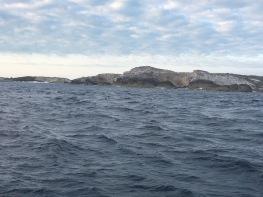 Cliffs outside the cut