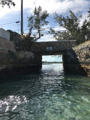 Under bridge to/from Georgetown