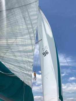 Sailing...or motor sailing...