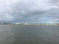View of Titusville from our boat