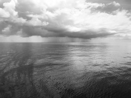 Rain in distance