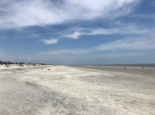 Barrier island beach
