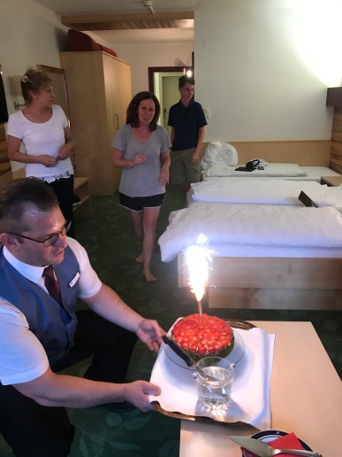AJ's birthday cake