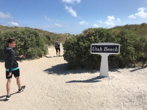 Entrance to Utah Beach